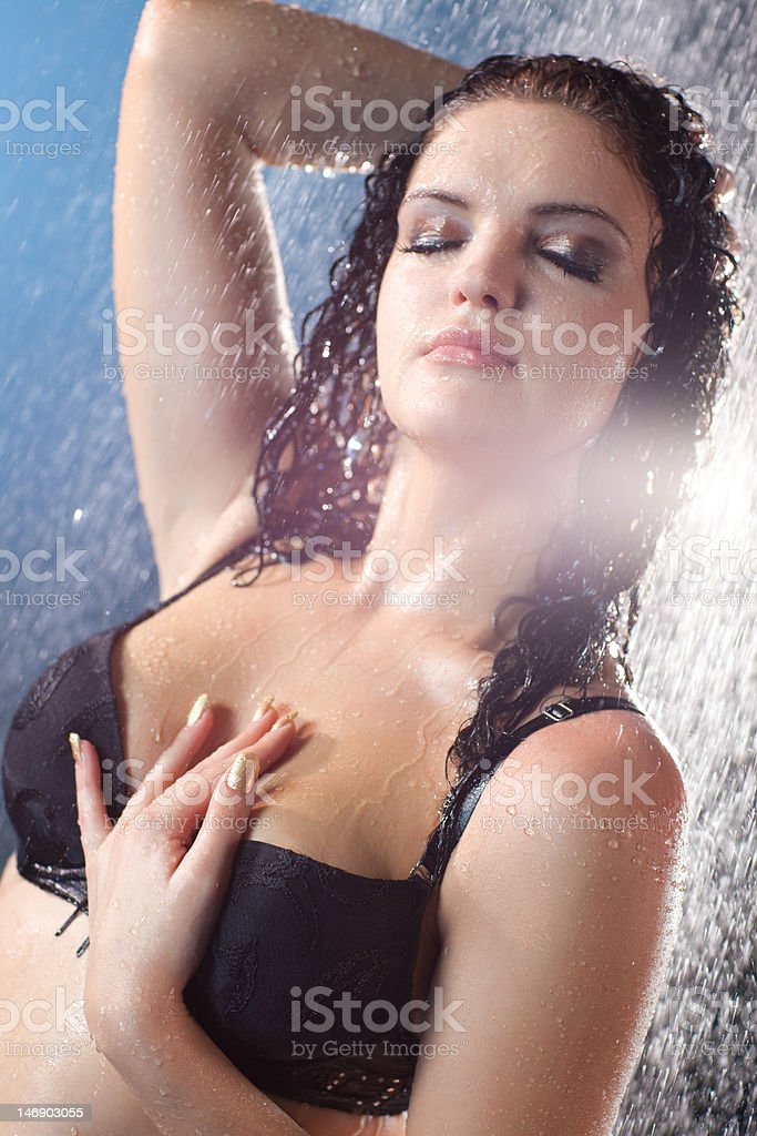 Young sexy woman portrait royalty-free stock photo