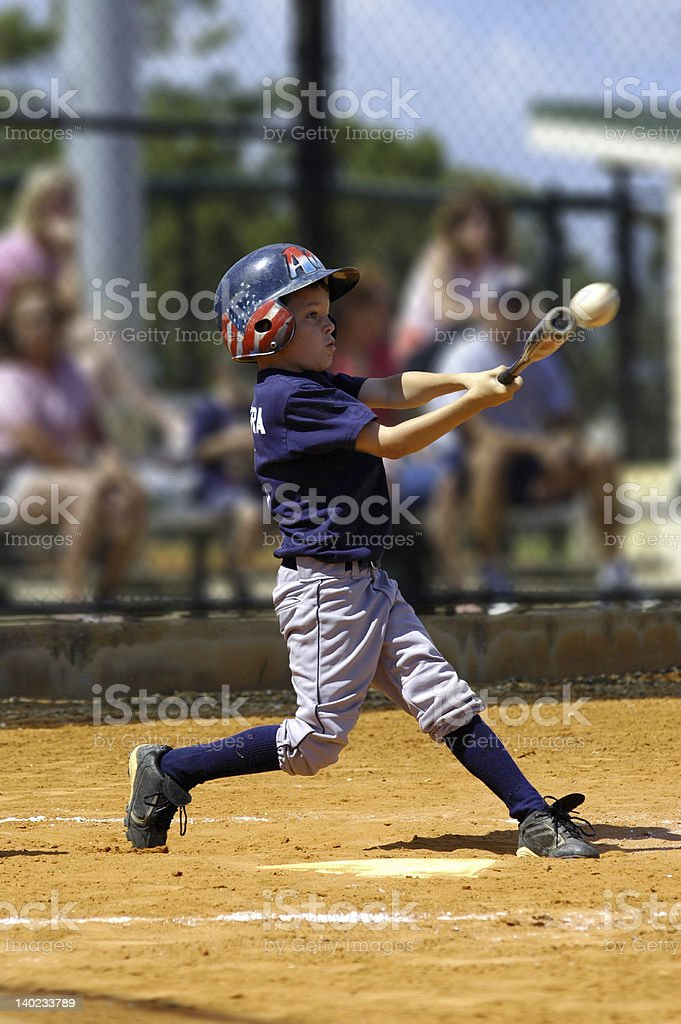 Young slugger royalty-free stock photo