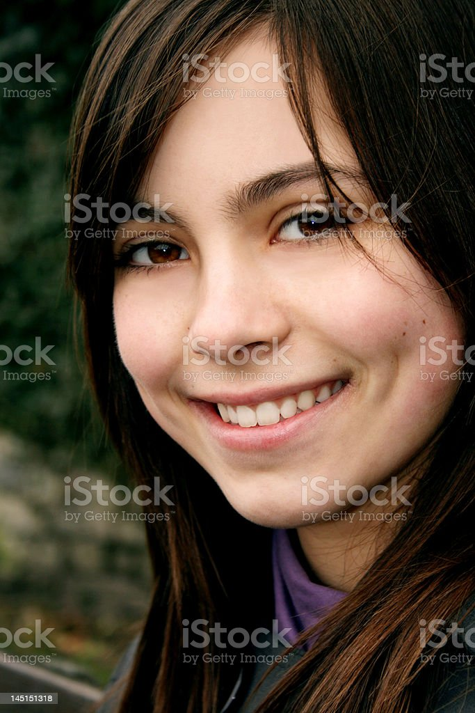Young Smiling Girl royalty-free stock photo