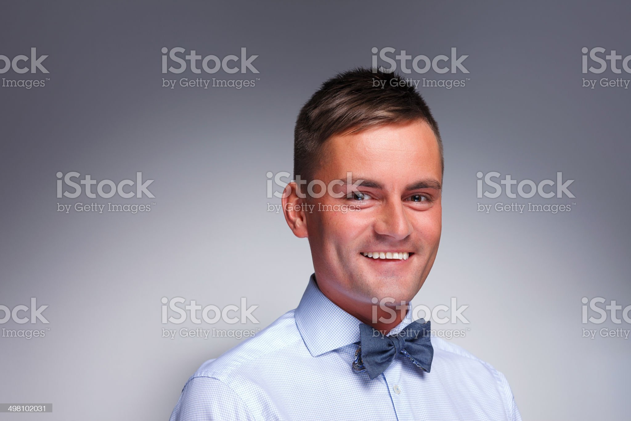 Young smiling man royalty-free stock photo
