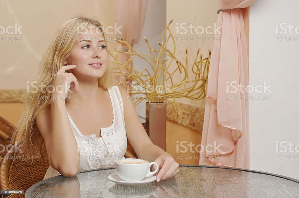 Young smiling woman royalty-free stock photo