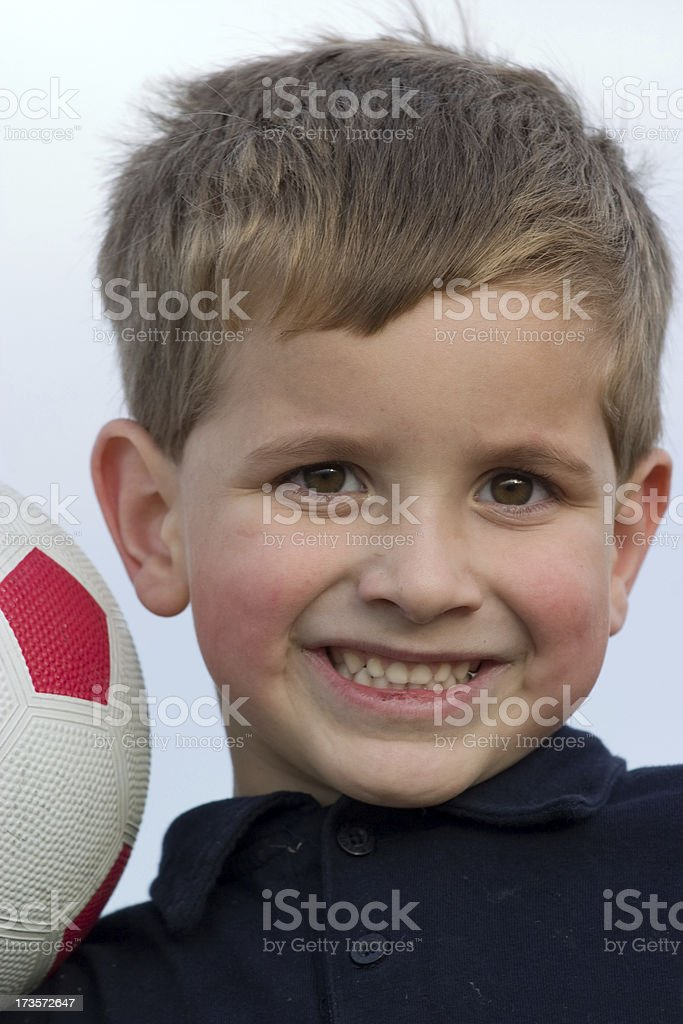 Young soccer player royalty-free stock photo