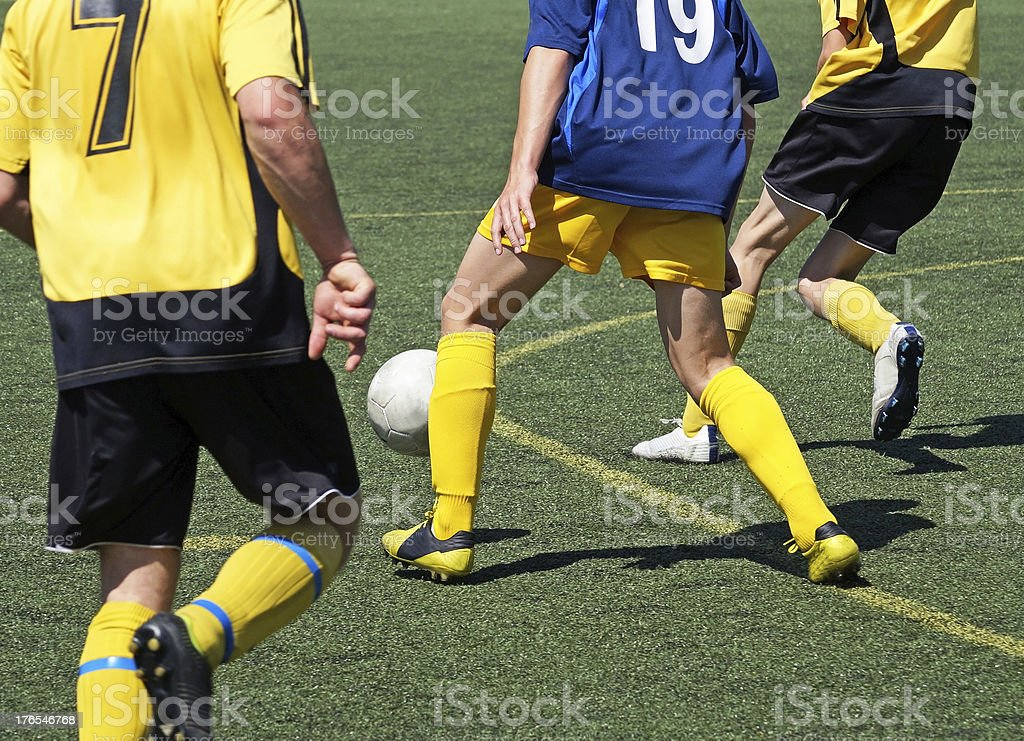 young soccer players royalty-free stock photo