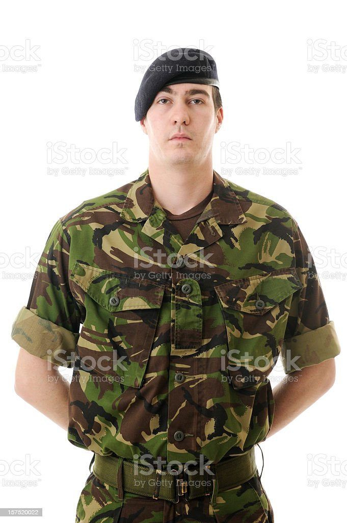 Young Soldier royalty-free stock photo