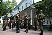 Young Soldiers Visiting Tolstoy's Home