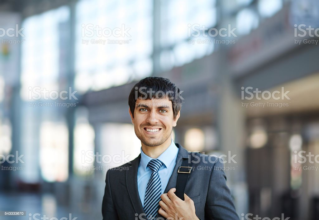 Young specialist stock photo