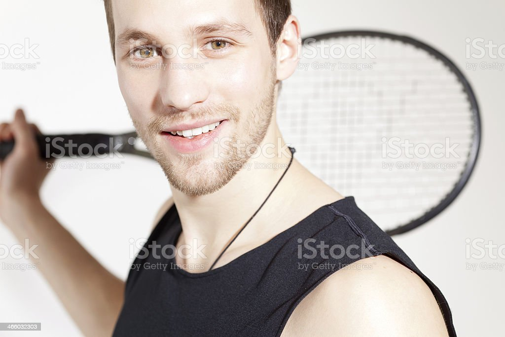 young sport man stock photo