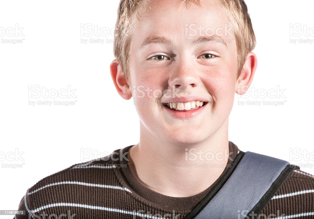 Young Student Portrait royalty-free stock photo
