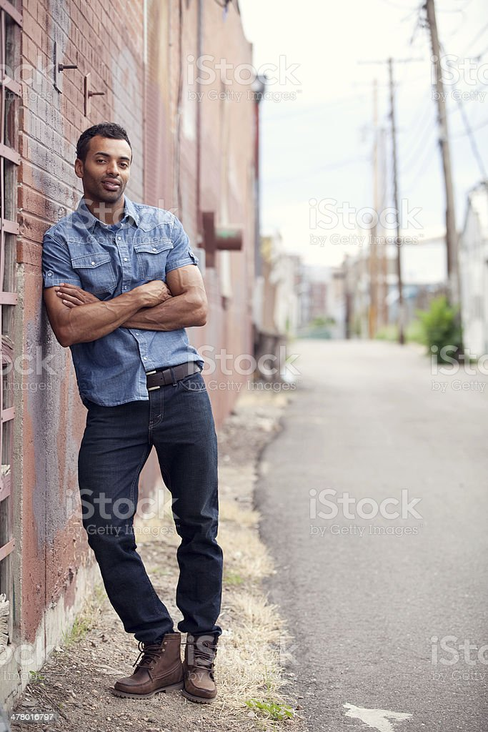 Young Stylish Man royalty-free stock photo