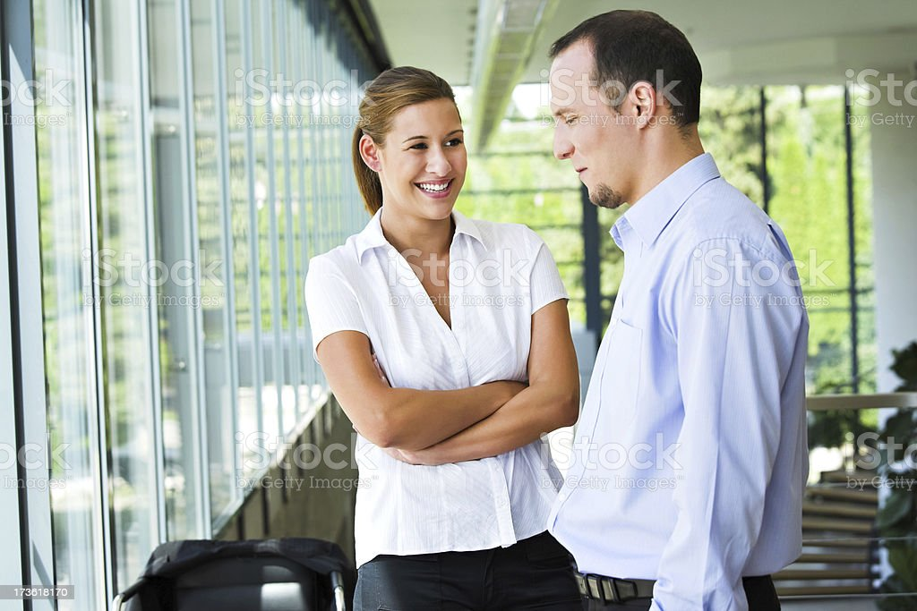 Young successful business people royalty-free stock photo