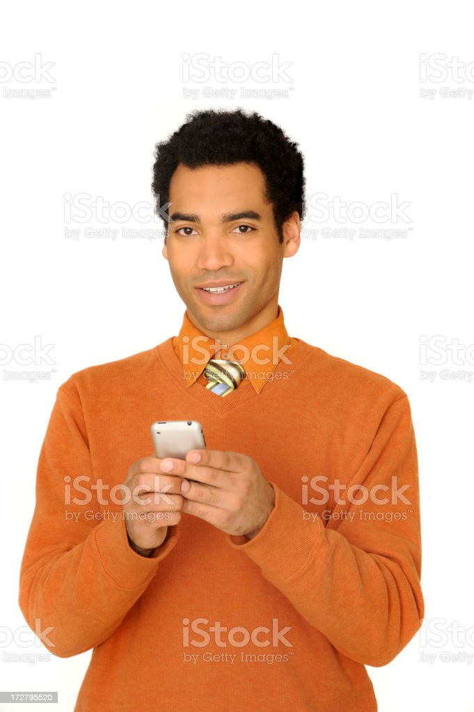 young successful businessman royalty-free stock photo