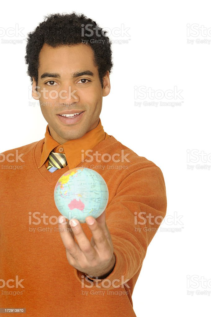 young successful businessman stock photo