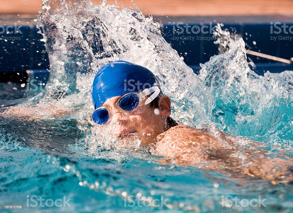 Young Swimmer royalty-free stock photo