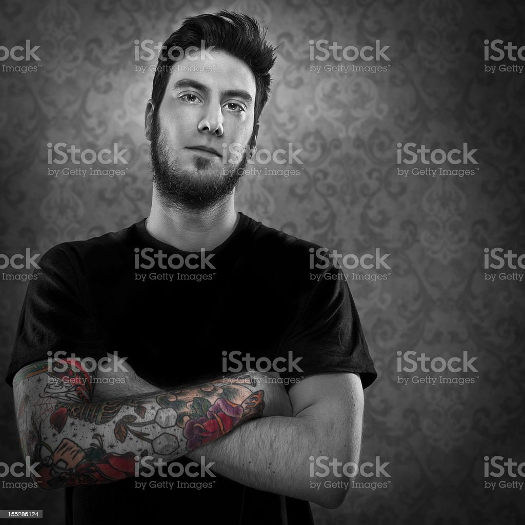 Young Tattoo Artist royalty-free stock photo