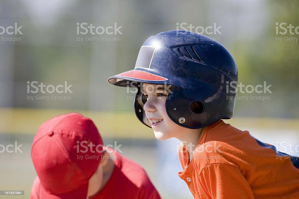 Young T-Ball player stock photo