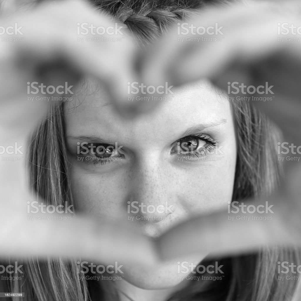 Young Teen Girl royalty-free stock photo
