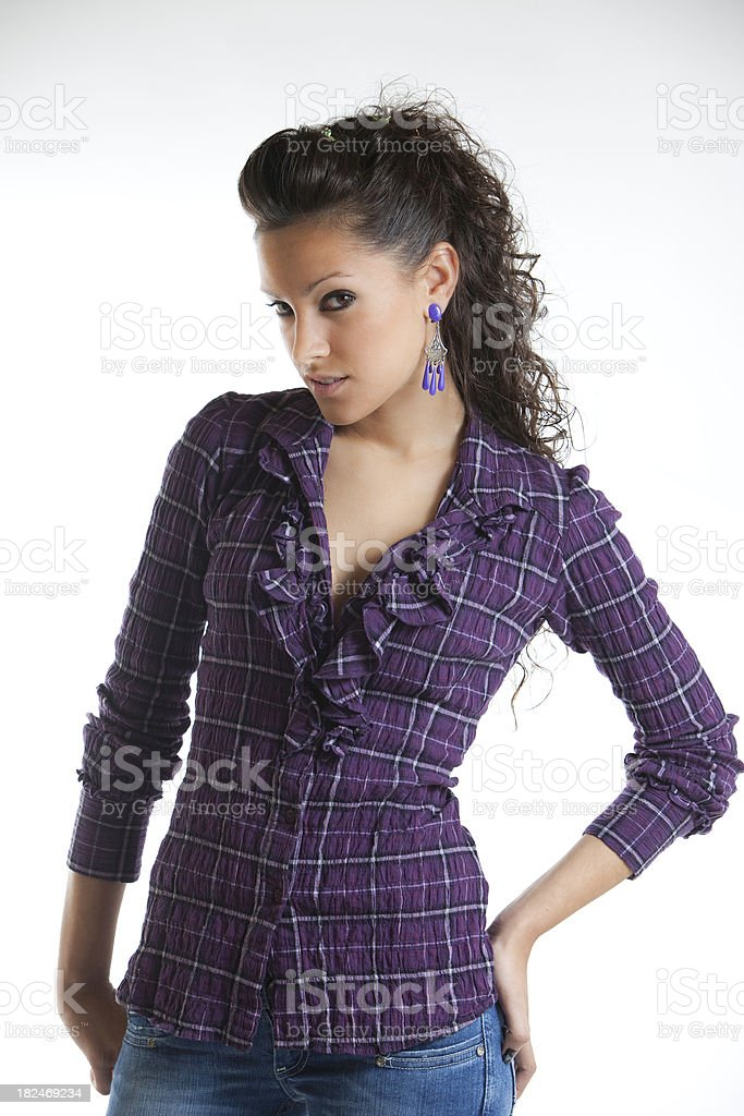 Young teenager royalty-free stock photo