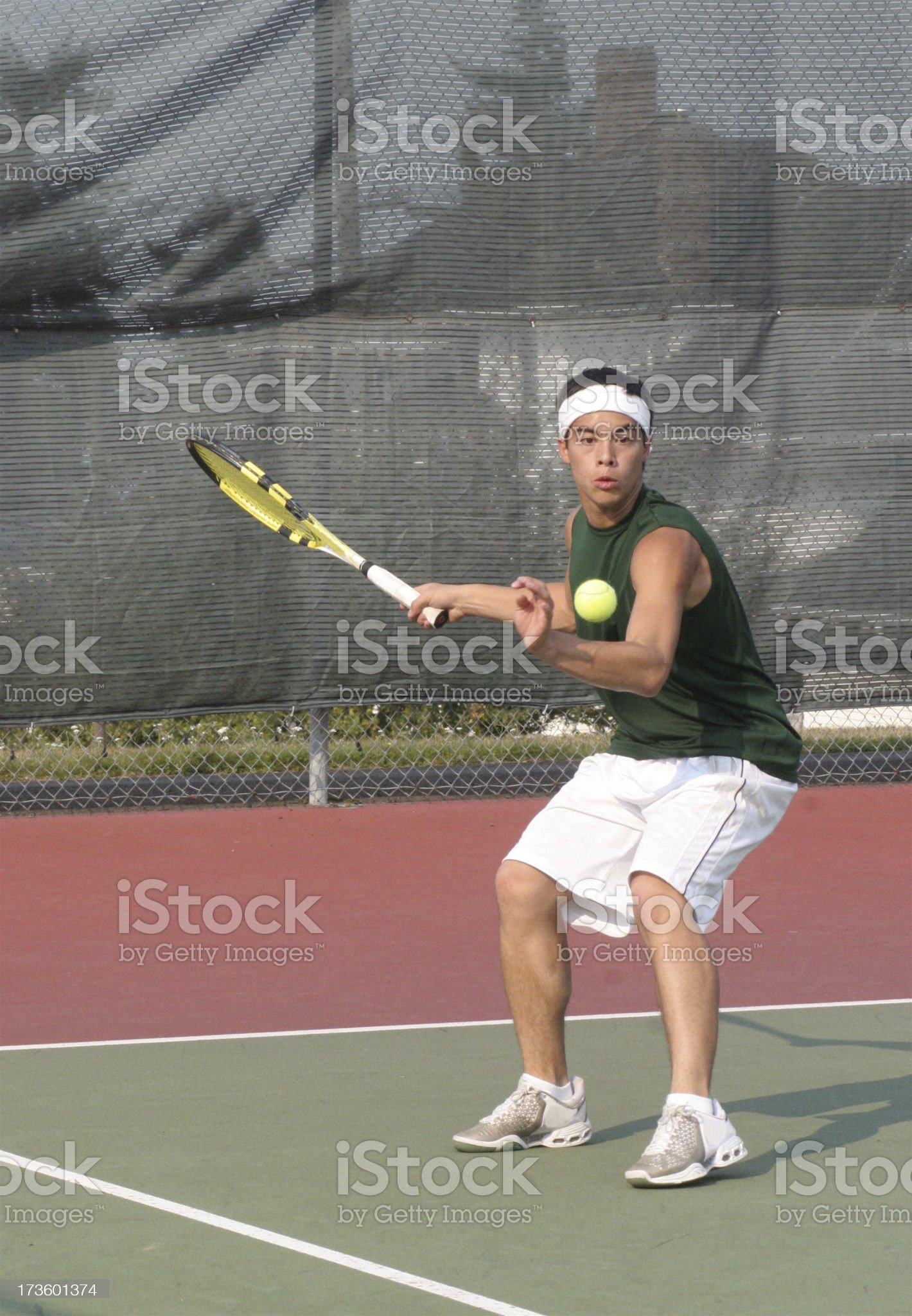 Young Tennis Player royalty-free stock photo
