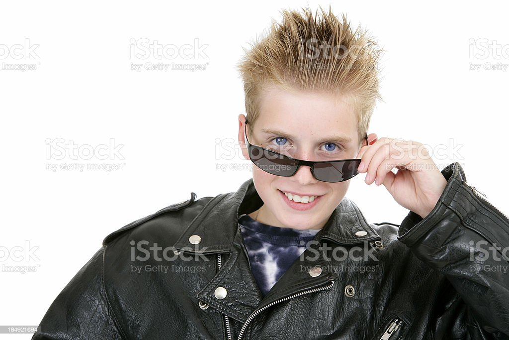 Young terminator royalty-free stock photo