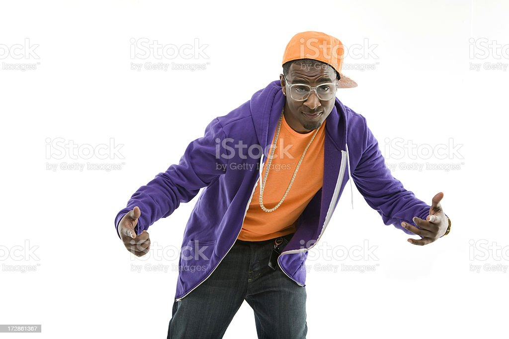 Young Thug royalty-free stock photo