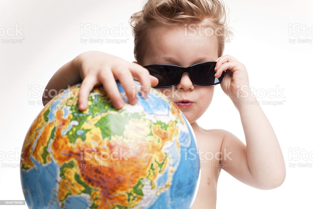 Young tourist royalty-free stock photo