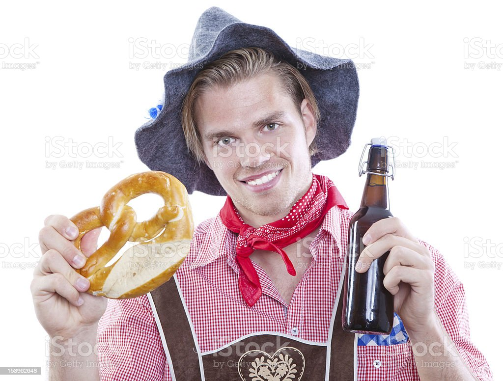 young traditional man stock photo