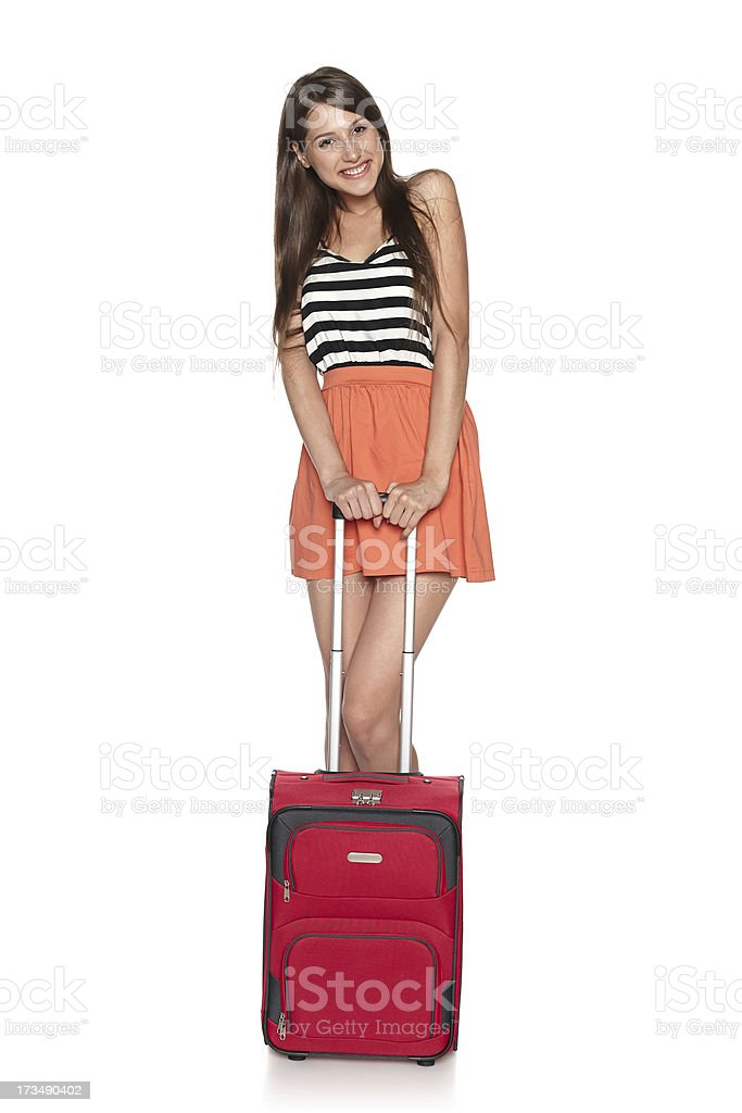 Young traveler female royalty-free stock photo