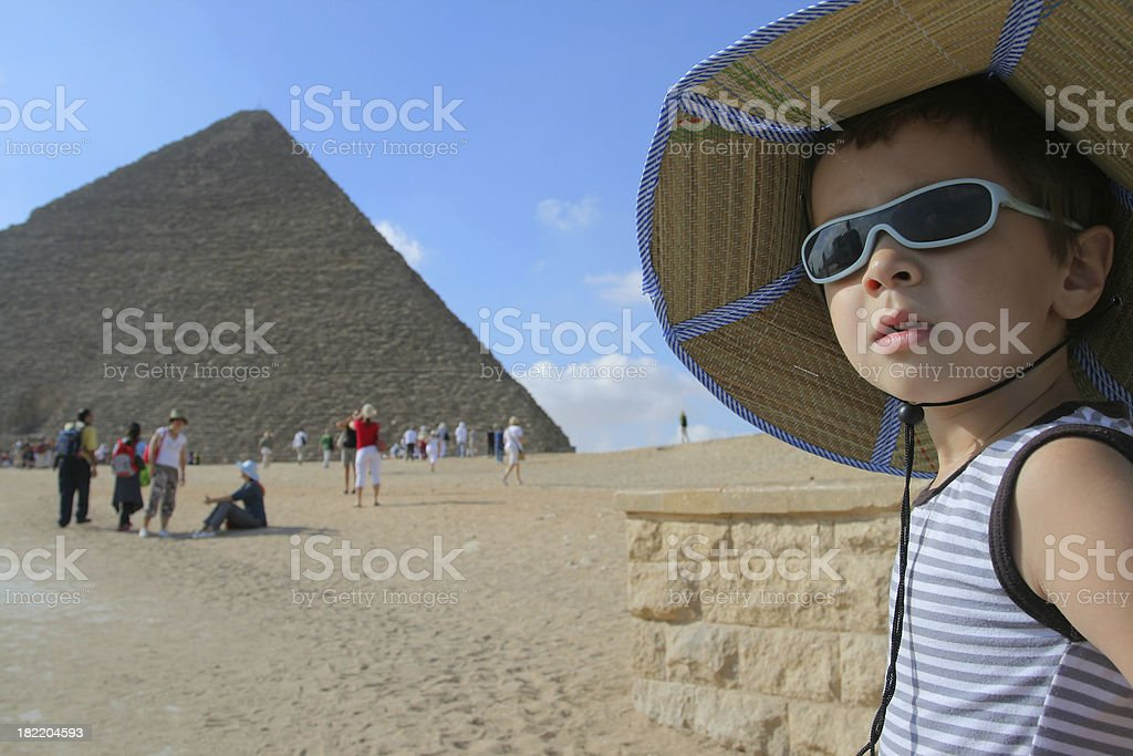 Young traveler royalty-free stock photo