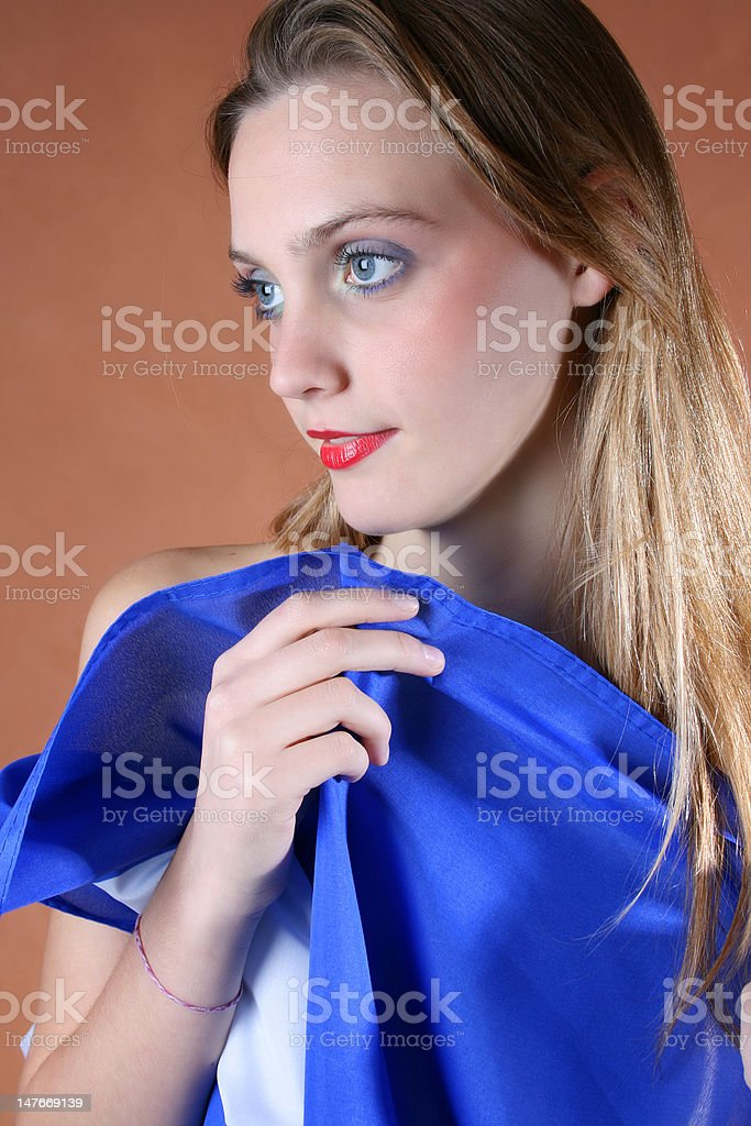 Young Traveller stock photo