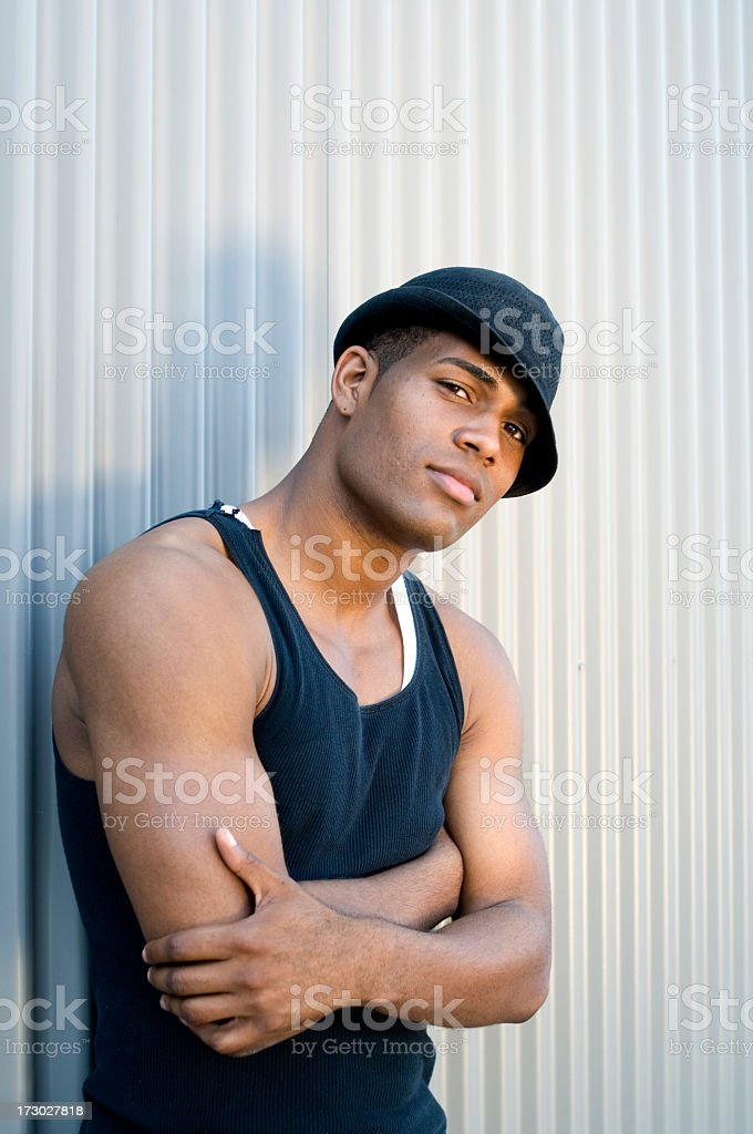 Young Urban Male royalty-free stock photo