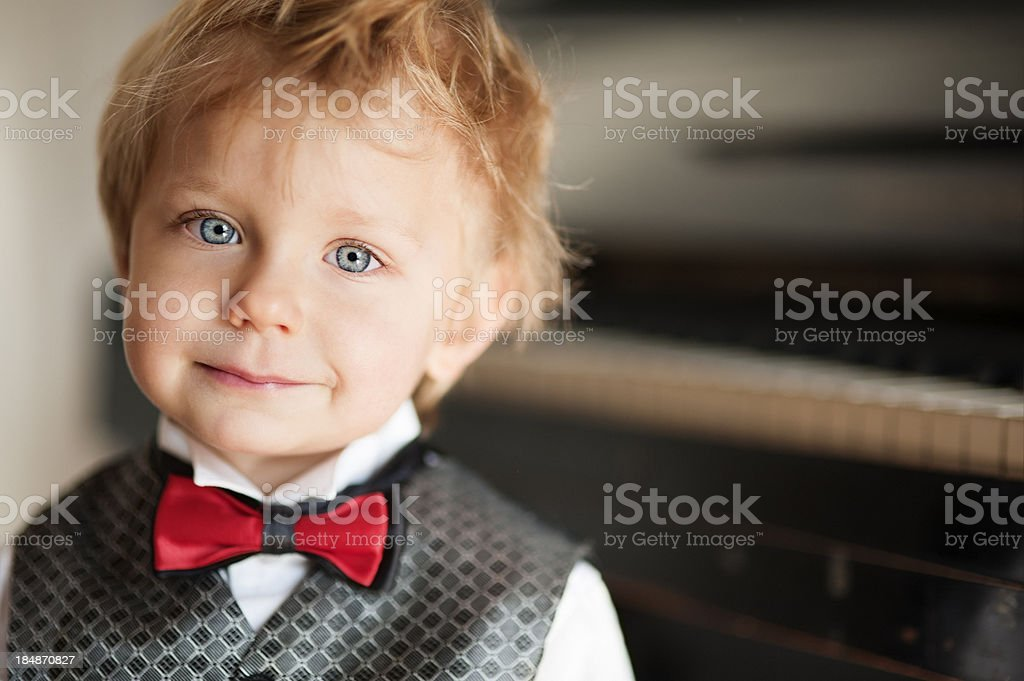 Young virtuoso stock photo