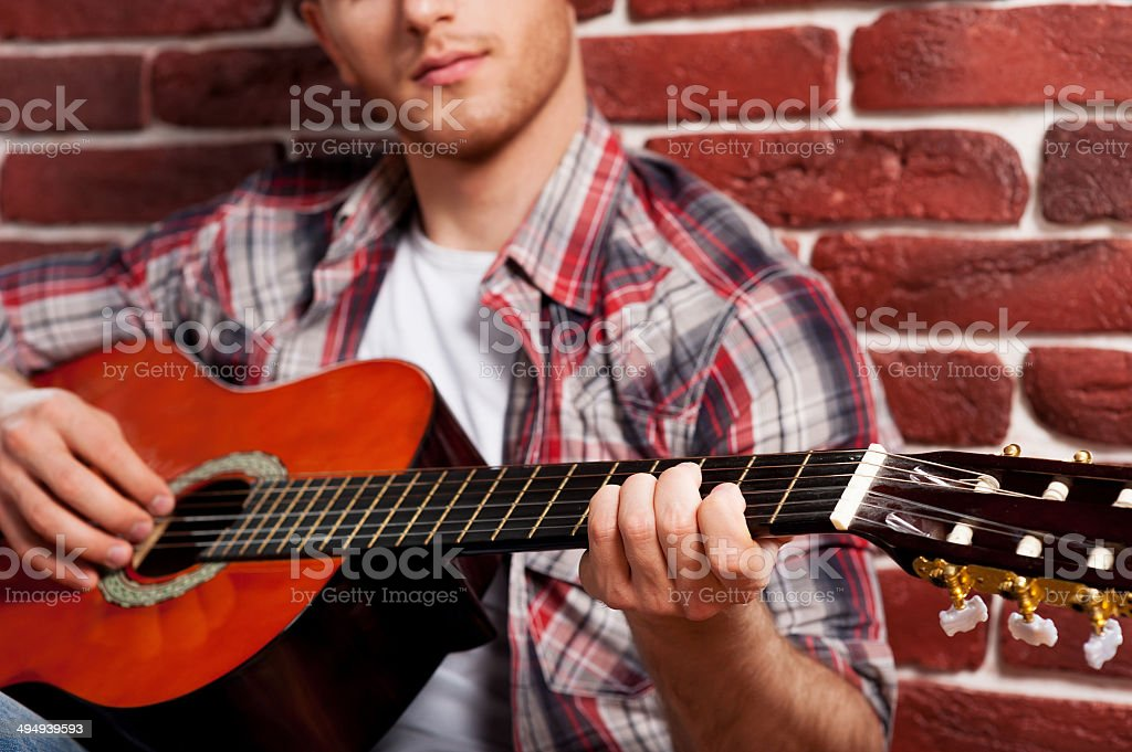 Young virtuoso. royalty-free stock photo