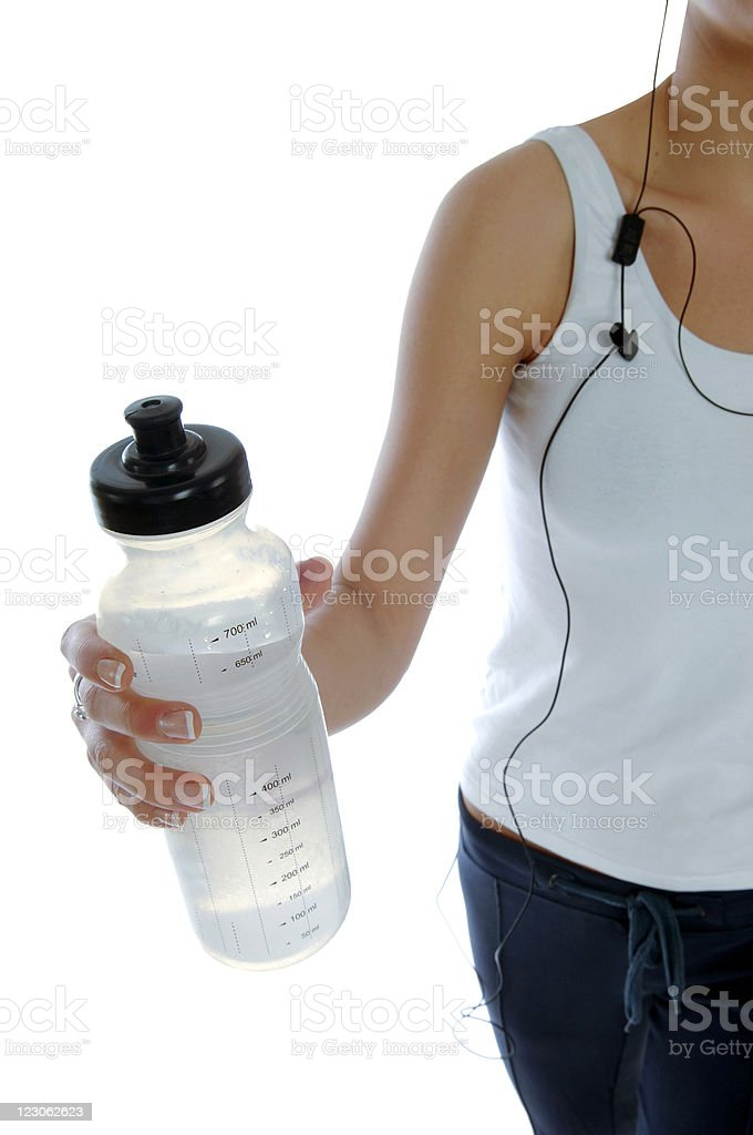 Young woman exercising royalty-free stock photo