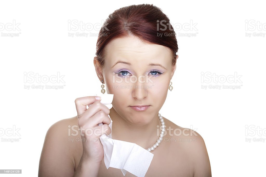 Young woman glamour portrait royalty-free stock photo