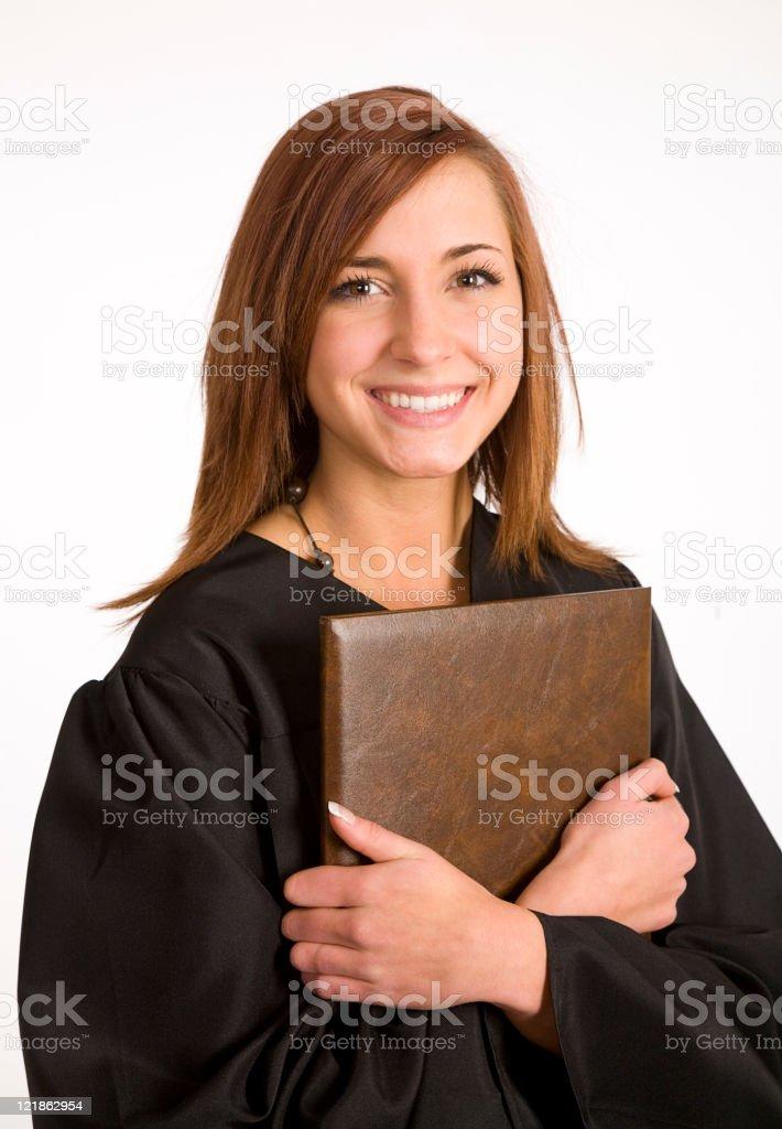 Young Woman Graduate stock photo