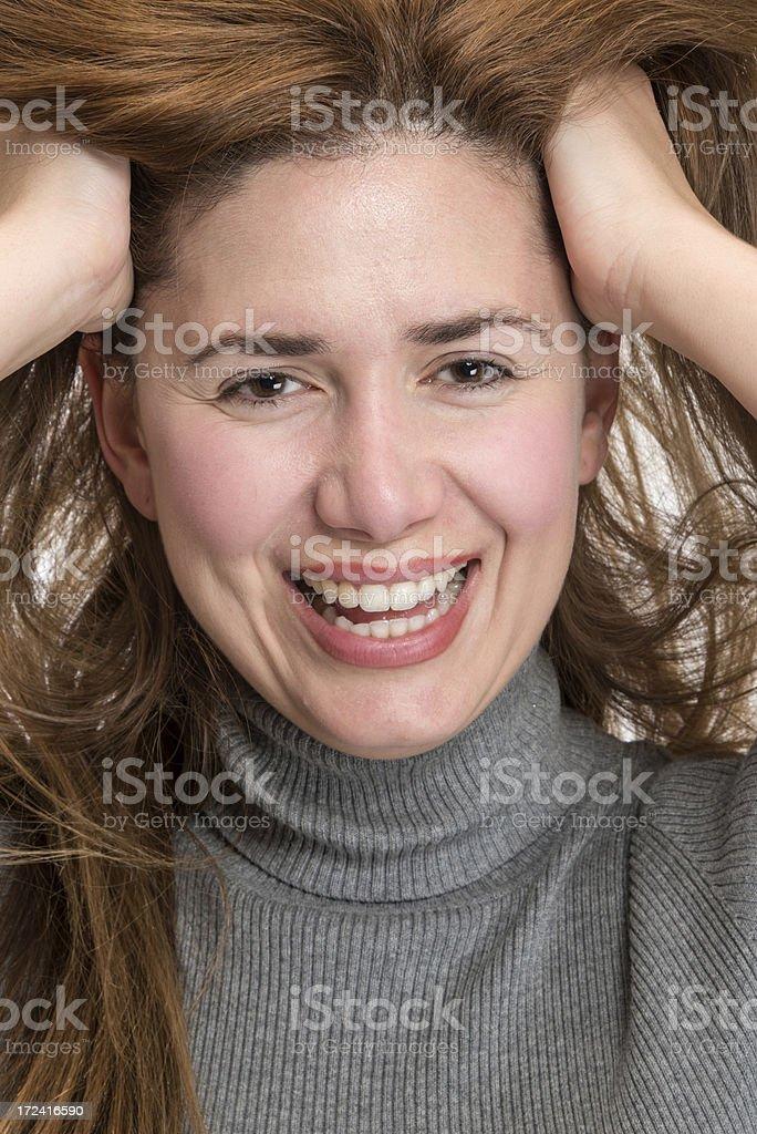 Young woman headshot royalty-free stock photo