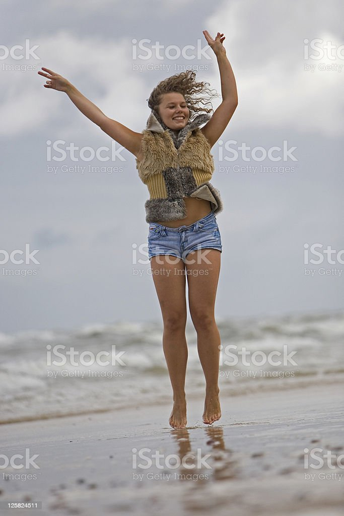 Young Woman - Healthy Living royalty-free stock photo