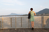 Young Woman Looking at View, Tai Po