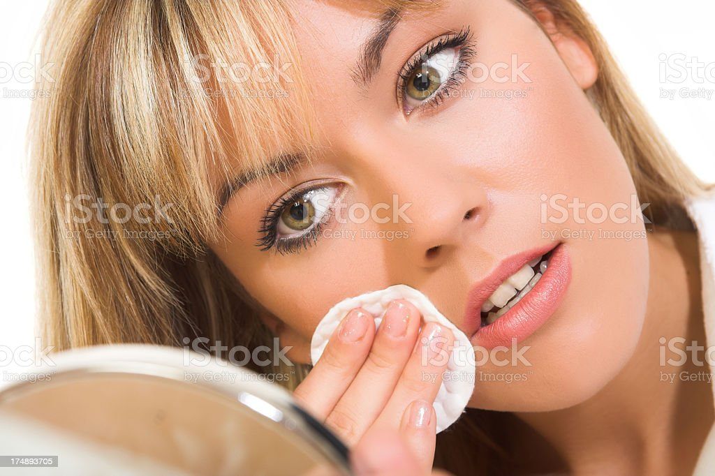 Young Woman Makeup royalty-free stock photo