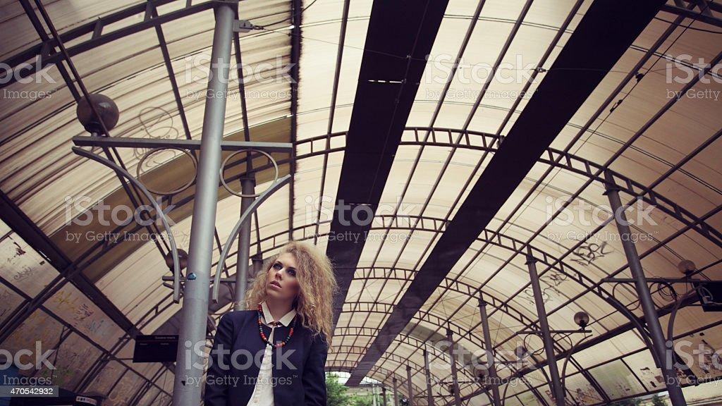 Junge Frau Modell Lizenzfreies stock-foto
