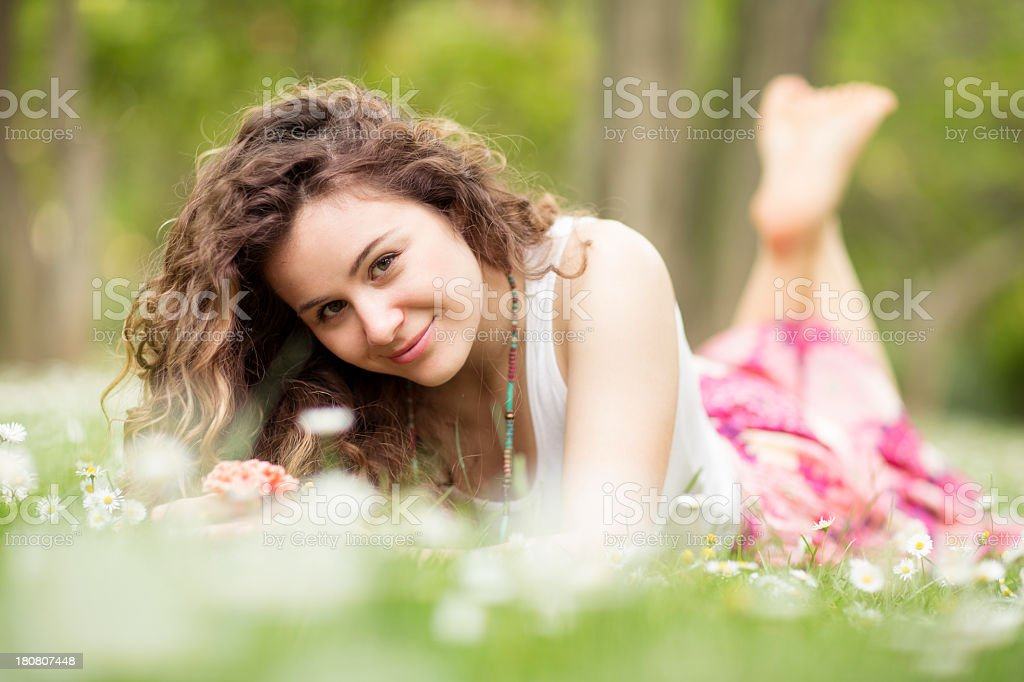 Young woman royalty-free stock photo