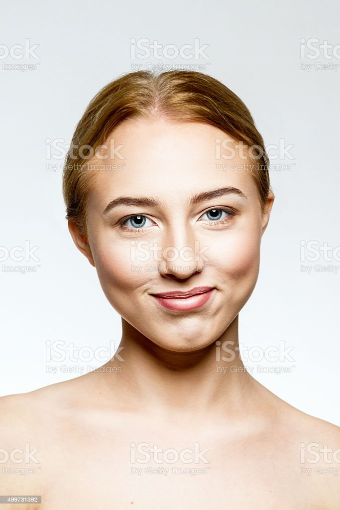 Young woman. stock photo