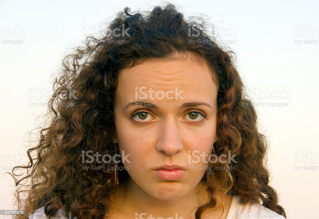 Young woman stock photo