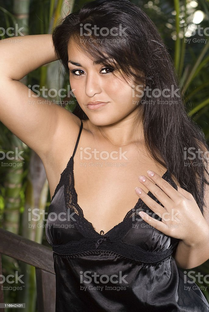 Young woman portrait. royalty-free stock photo
