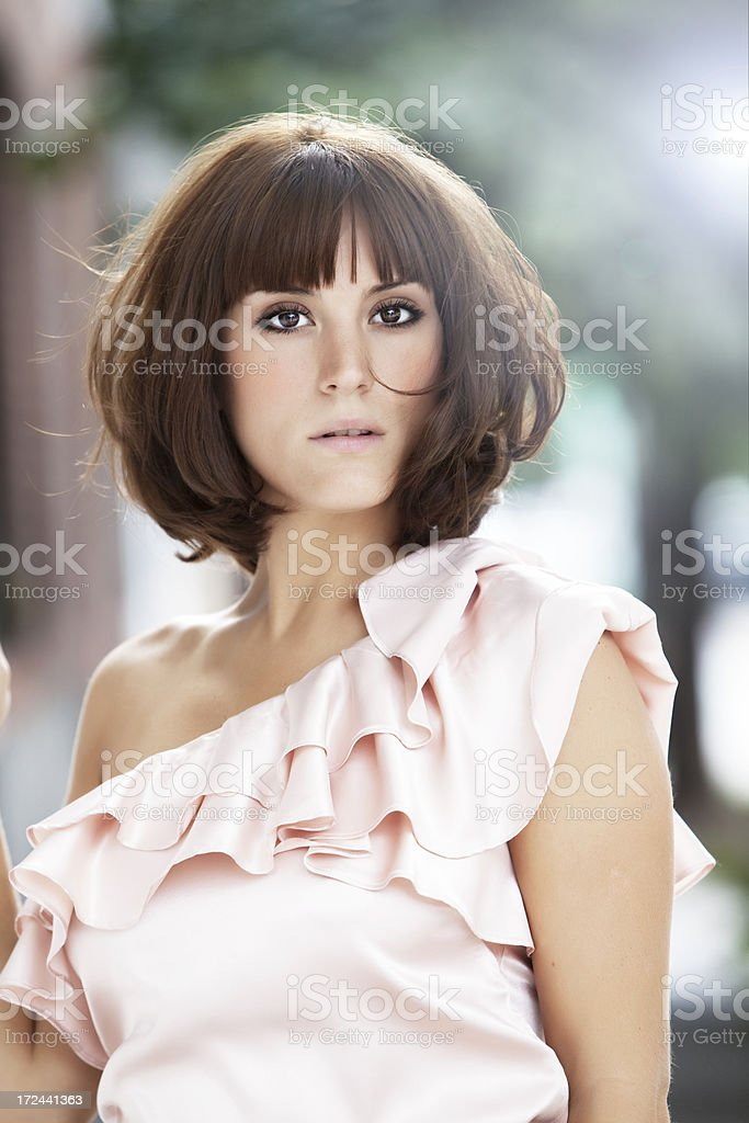 Young Woman Portrait royalty-free stock photo