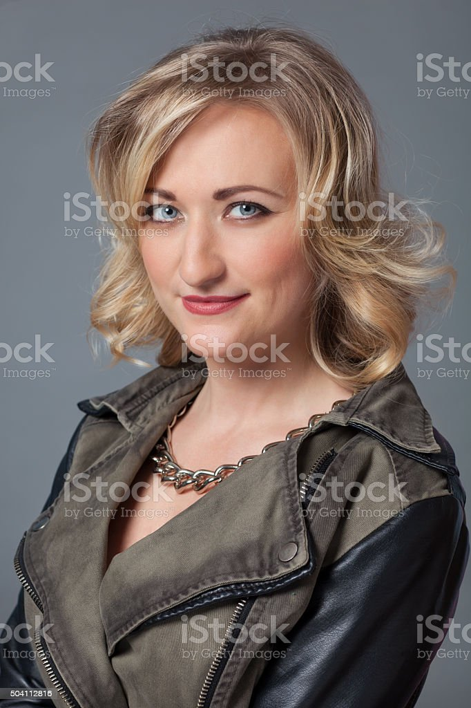 Young woman portrait. stock photo