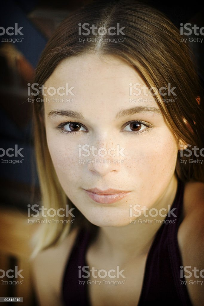 Young Woman | Portrait royalty-free stock photo