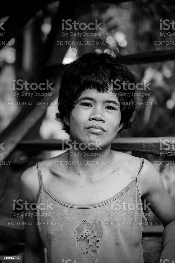 young woman portrait-sipalay stock photo