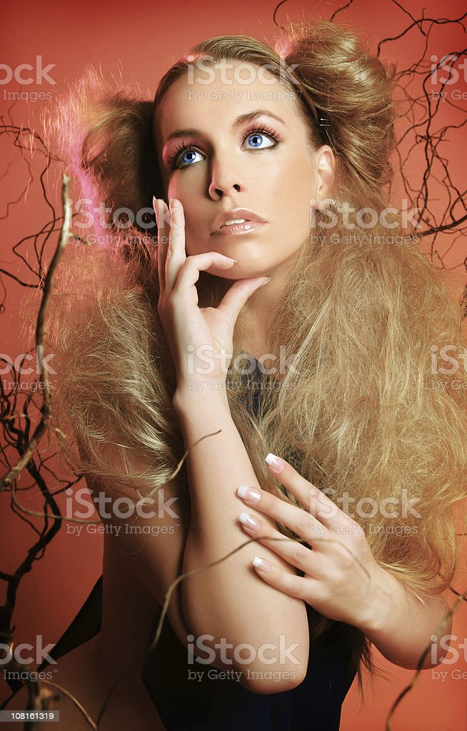 Young Woman Posing royalty-free stock photo