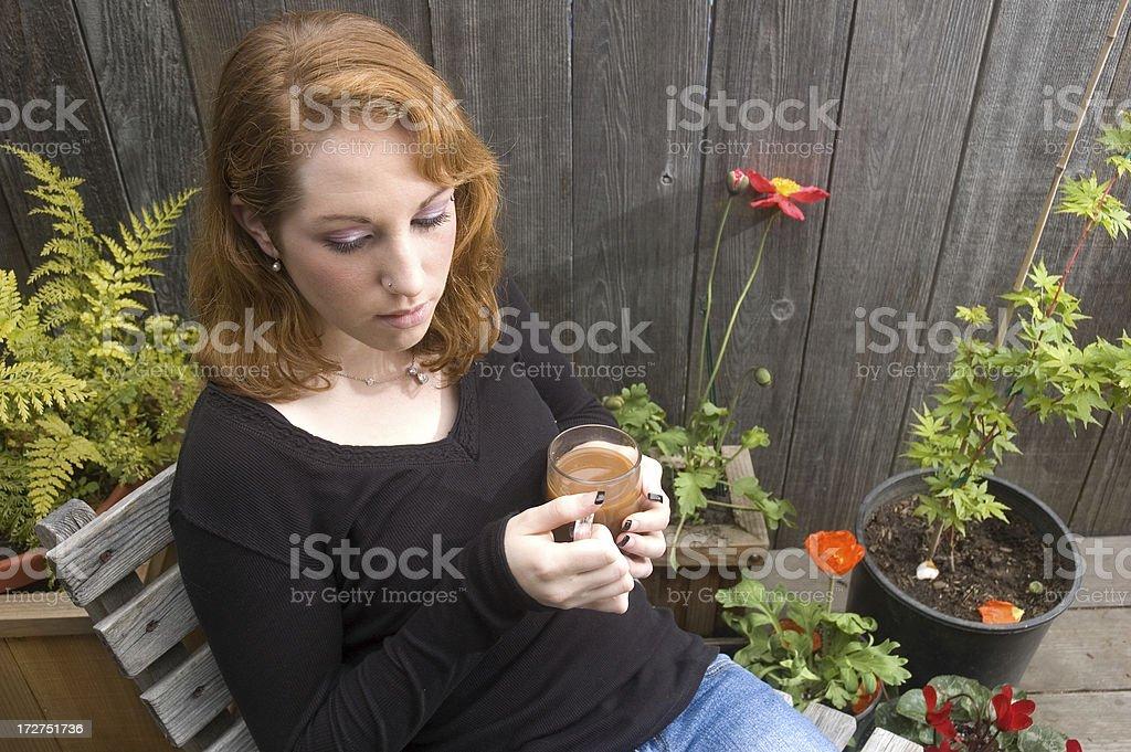 Young Woman Sad royalty-free stock photo